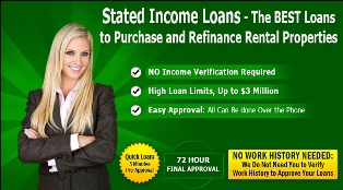 Qkmortgage.Com Is Approving Stated Income Mortgage Loan for Investors Who Declare Low Income on Tax Returns