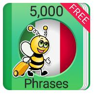 Learn Italian 5,000 Phrases Updated Version Soon to Be Released on Play Store