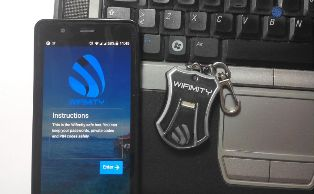 Wifimity – Business Safe with Just a Keyring